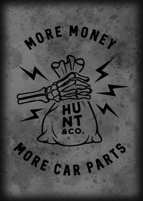 MORE CAR PARTS BLACK