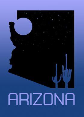 Arizona Desert Night