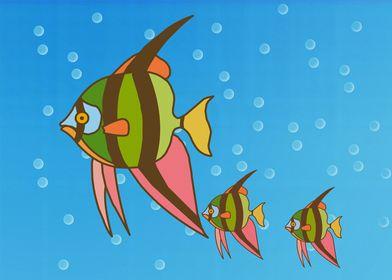 Aquarium in Canvas