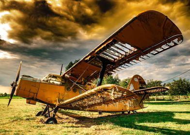 Abandoned Antonov plane