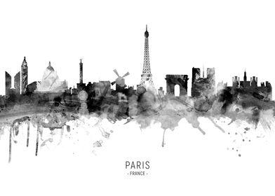 Paris France Skyline
