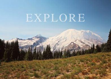 explore the mountains