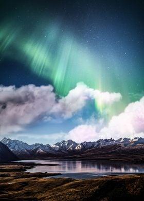 Aurora And Clouds