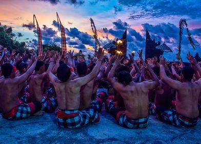 Dance performance in Bali
