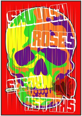 Skulls and roses