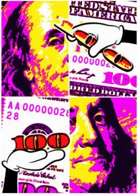 Benjamin Franklin 100 Bill