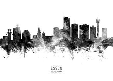 Essen Deutschland Skyline