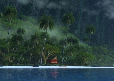 A Rainy Day in Paradise