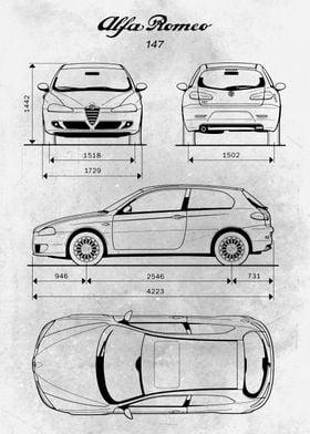 No001 Alfa Romeo 147