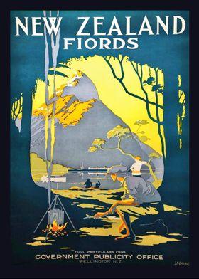 New Zealand fiords