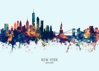 New York New York Skyline