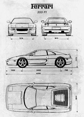 No067 Ferrari 355 F1