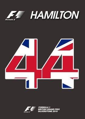 Lewis Hamilton Grid Plate