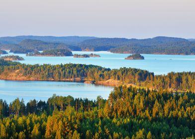 Landscape Of Saimaa Lake F