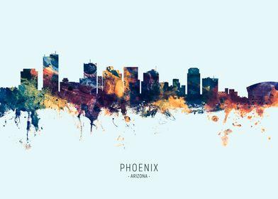Phoenix Arizona Skyline