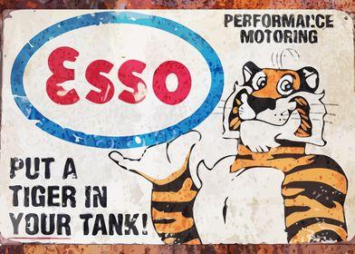 Vintage Esso