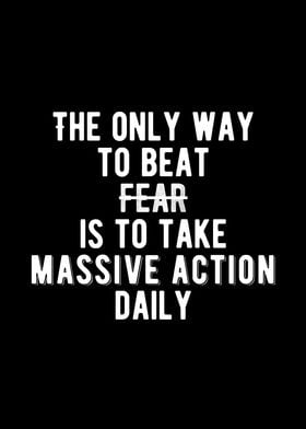 Take Massive Action Quote