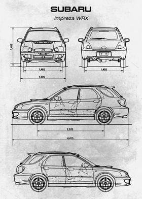 No232 Subaru Impreza WRX