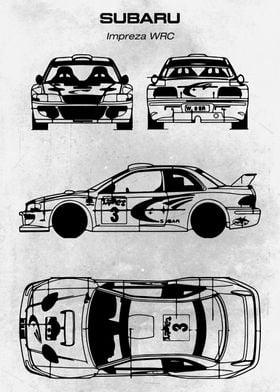 No231 Subaru Impreza WRC