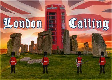 London Calling Phone Box 2
