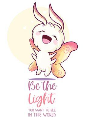 Cute Moth  Be the light