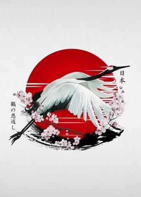 Japanese Crane Tsuru
