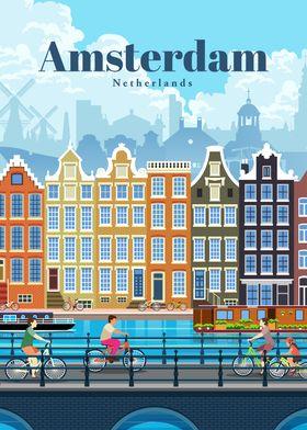 Travel to Amsterdam