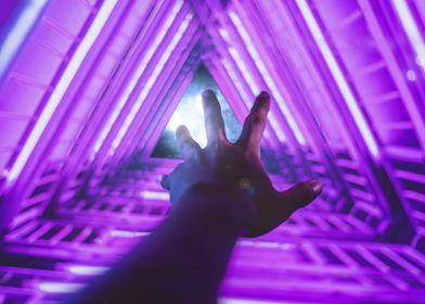 Falling into the quantum