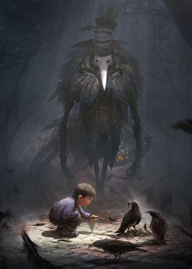 the raven monster
