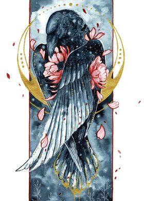 Golden raven