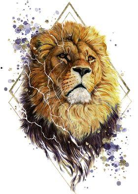 Shattered Lion