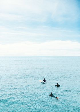 Flat Ocean