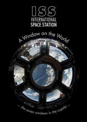 ISS Space Station Cupola