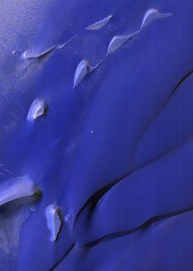 Mars Velvety Blue Dunes