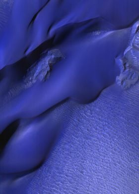 Mars Blue Dunes South