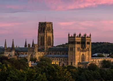 Durham Cathedral sunset