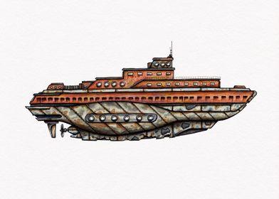 Submarine U Boot