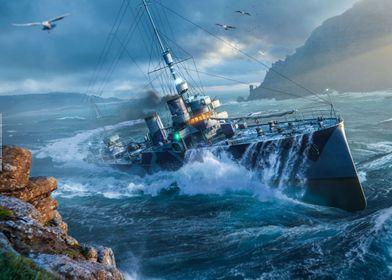 Italian Destroyer