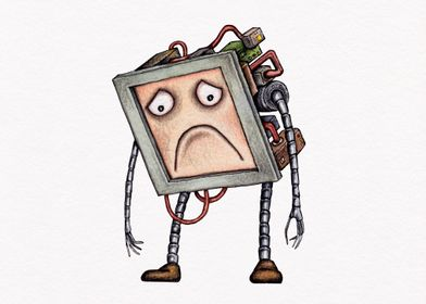 Sad Roboter