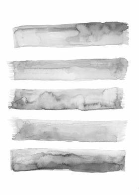 Watercolor gray