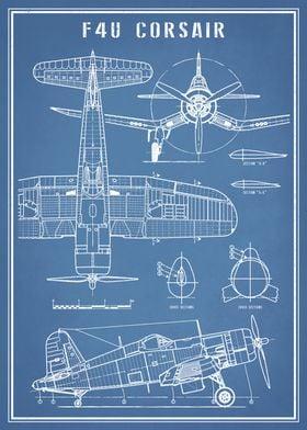 F4U Corsair Fighter Plane