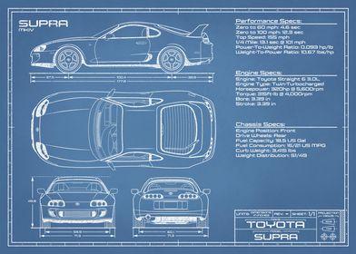 Toyota Supra 1993 - 1998