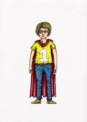 Superheld Hero