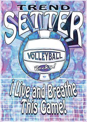Trend Setter Blue Vball