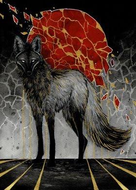 Golden Maned Wolf