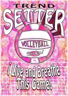 Trend Setter Pink Vball
