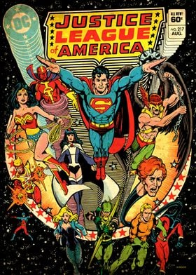 Justice League of America by George Perez