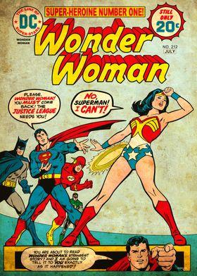 Wonder Woman 212 by Bob Oksner