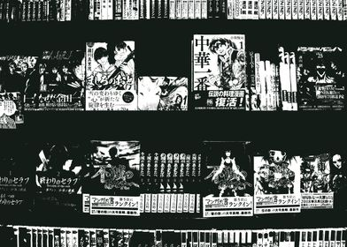 Black and White Manga
