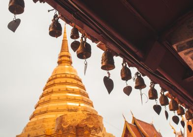 A Temple Above Chiang Mai